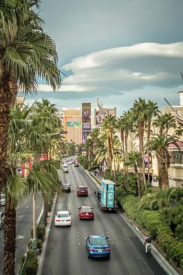 Photograph - Views Of Las Vegas Nevada Strip  by Alex Grichenko