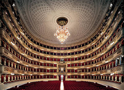Painting - Views Of The Teatro Alla Scala, Milan by Mondadori Portfolio