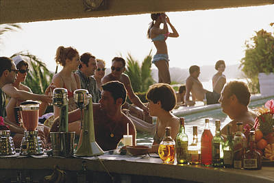 Hotel Photograph - Villa Vera by Slim Aarons