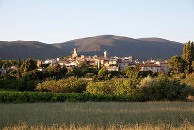 Village Of Lourmarin Art Print by Photo And Co