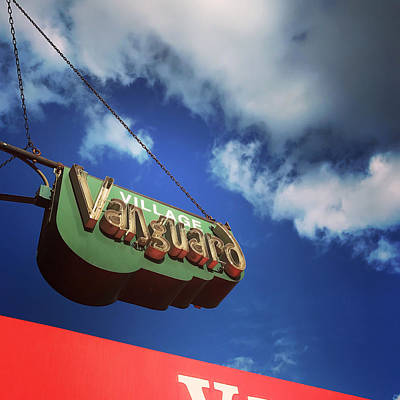 Photograph - Village Vanguard by Michael Gerbino