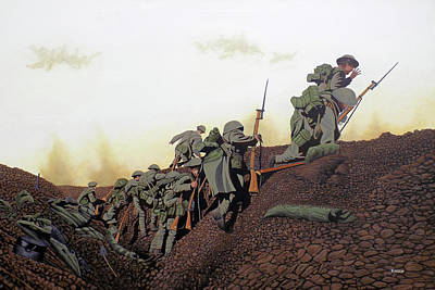 Painting - Vimy Ridge by Kenneth  Kirsch