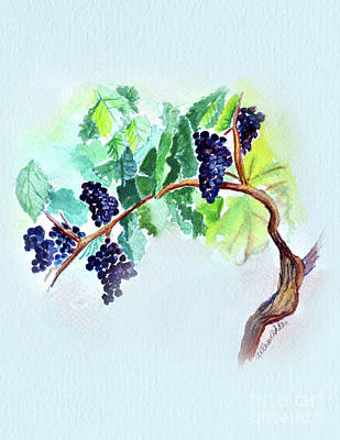 Painting - Vine And Branch by Allison Ashton