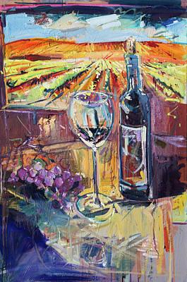 Painting - Vineyard Dream by Drew Davis