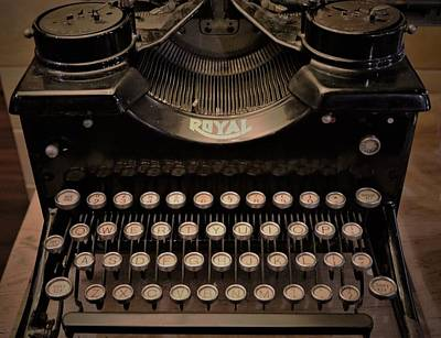 Sheep - Vingtage Royal Typewriter by Christopher James