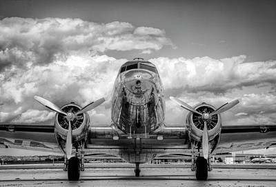 Photograph - Vintage Airplane by Nick Vedros