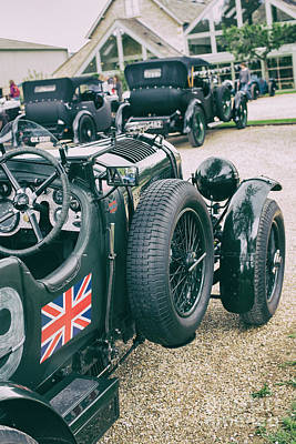 Photograph - Vintage Bentley Motor Car by Tim Gainey