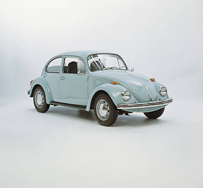 Photograph - Vintage Car Against White Background by Tom Kelley Archive