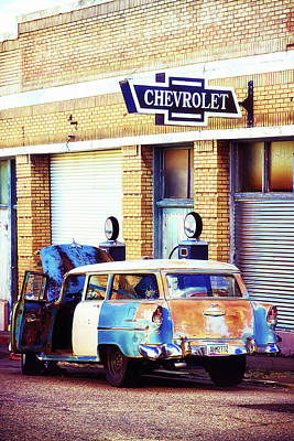 Photograph - Vintage Chevrolet In Bisbee, Arizona by Tatiana Travelways