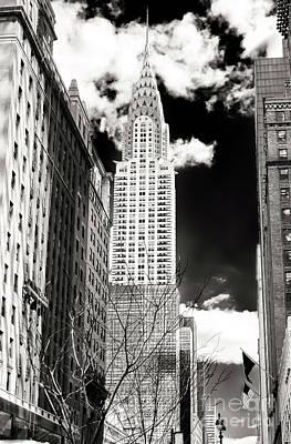 Photograph - Vintage Chrysler Building 2006 New York City by John Rizzuto