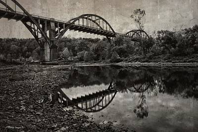 Photograph - Vintage Cotter Bridge by Wesley Nesbitt