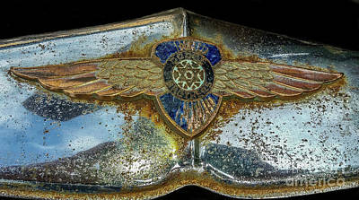 Photograph - Vintage Dodge Emblem by Tony Baca