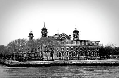 Photograph - Vintage Ellis Island by Doc Braham