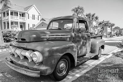 Photograph - Vintage Ford F1 by Dale Powell