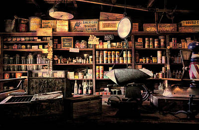 Photograph - Vintage General Store 2 by Andrea Anderegg