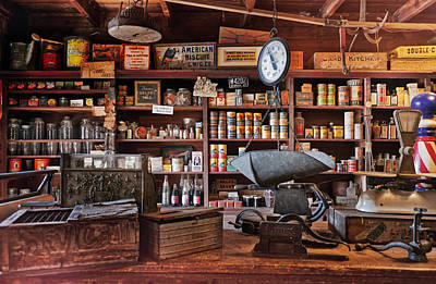 Photograph - Vintage General Store by Andrea Anderegg