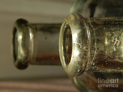 Photograph - Vintage Glass by Phil Perkins
