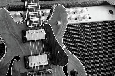 Photograph - Vintage Guitar And Amp by Mattjeacock