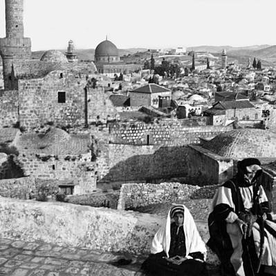 Photograph - Vintage Jerusalem City by Munir Alawi