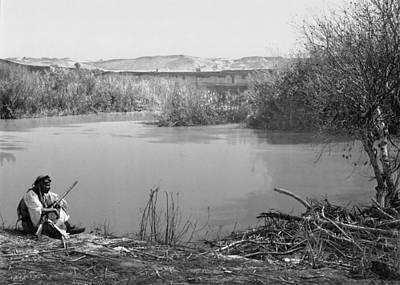 Photograph - Vintage Jordan River by Munir Alawi
