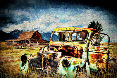 Digital Art - Vintage by Mark Allen