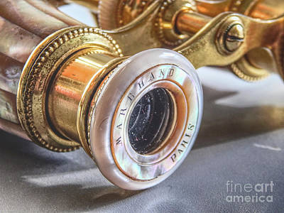 Photograph - Vintage Opera Glasses by Phil Perkins