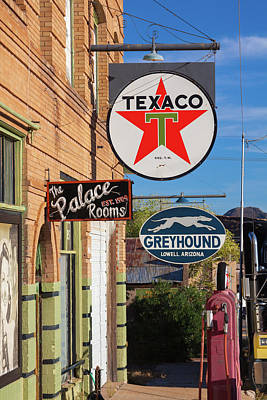 Photograph - Vintage Signs In Bisbee, Arizona by Tatiana Travelways