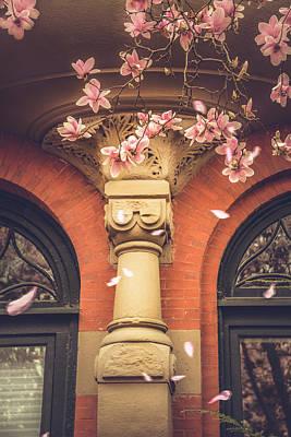Photograph - Vintage Spring In Back Bay Boston by Joann Vitali