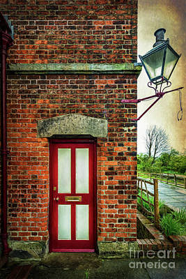 Photograph - Vintage Station Entrance by Adrian Evans