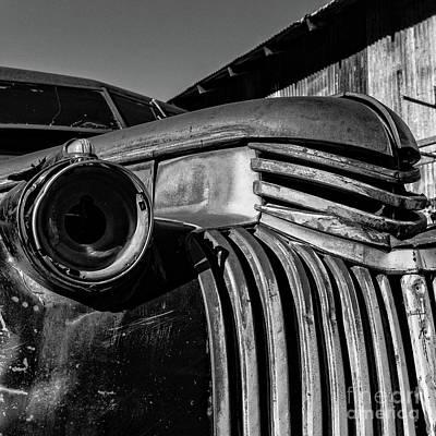 Photograph - Vintage Truck Jerome Arizona by Edward Fielding
