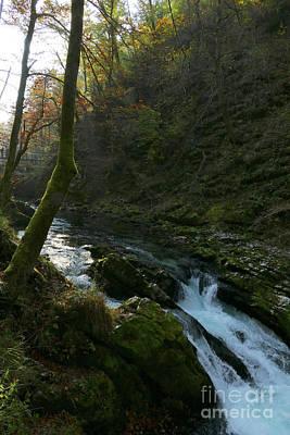 Photograph - Vintgar Gorge Falls - Slovenia by Phil Banks