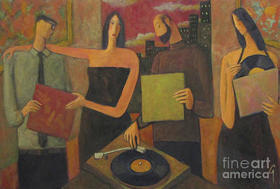Painting - Vinyl by Glenn Quist