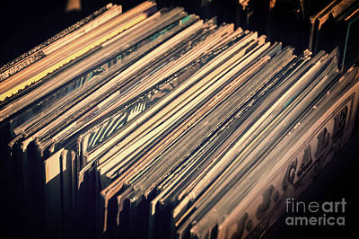 Musicians Royalty Free Images - Vinyl records Royalty-Free Image by Delphimages Photo Creations