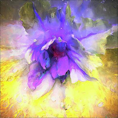Abstract Digital Art - Violetta Limon by Cindy Greenstein