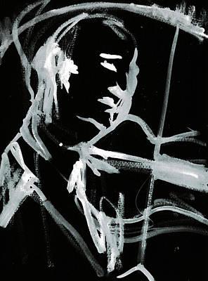 Digital Art - Violin Player 2b by Artist Dot