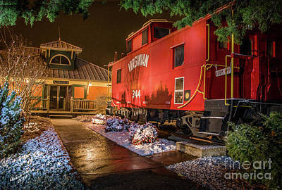 Pittsburgh According To Ron Magnes - Virginian Caboose by Aaron Shortt