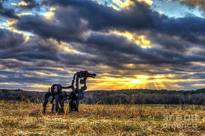 Photograph - Visible Light 2 The Iron Horse Sunrise Art by Reid Callaway