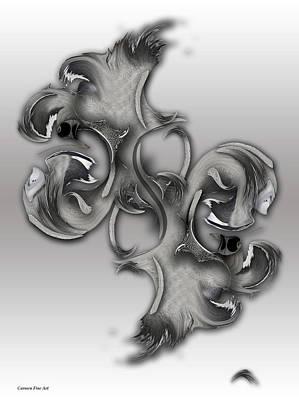 Digital Art - Vision Of Aesthetic Thing by Carmen Fine Art