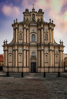 Photograph - Ordo Visitationis Beatissimae Mariae Virginis Church  by Jaroslaw Blaminsky