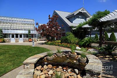 Photograph - Visitor Center At The North Carolina Arboretum by Jill Lang