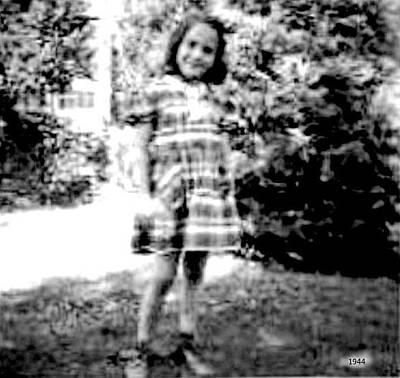 Photograph - Vivian - Age 7  -  1944 by VIVA Anderson