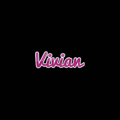 Digital Art - Vivian #vivian by TintoDesigns