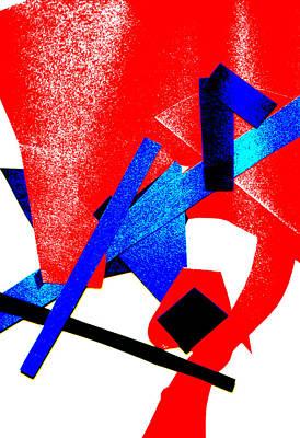 Digital Art - Vivid Abstract Art 1 by Artist Dot