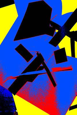 Digital Art - Vivid Abstract Art 12 by Artist Dot