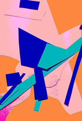 Digital Art - Vivid Abstract Art 18 by Artist Dot
