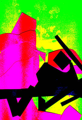 Digital Art - Vivid Abstract Art 2 by Artist Dot