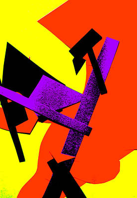 Digital Art - Vivid Abstract Art 22 by Artist Dot
