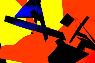 Digital Art - Vivid Abstract Art 25 by Artist Dot