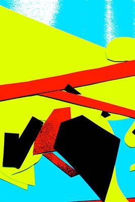 Digital Art - Vivid Abstract Art 27 by Artist Dot