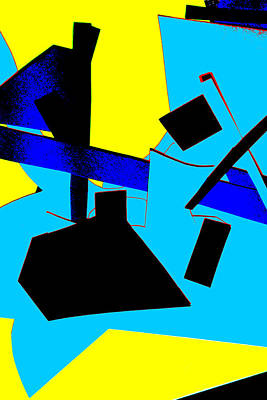 Digital Art - Vivid Abstract Art 28 by Artist Dot